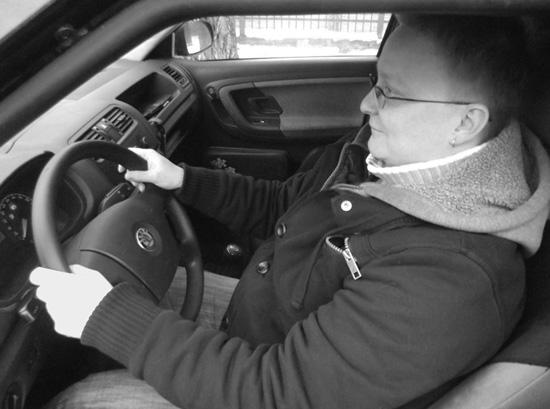 Ustawienie kierownicy - dobre